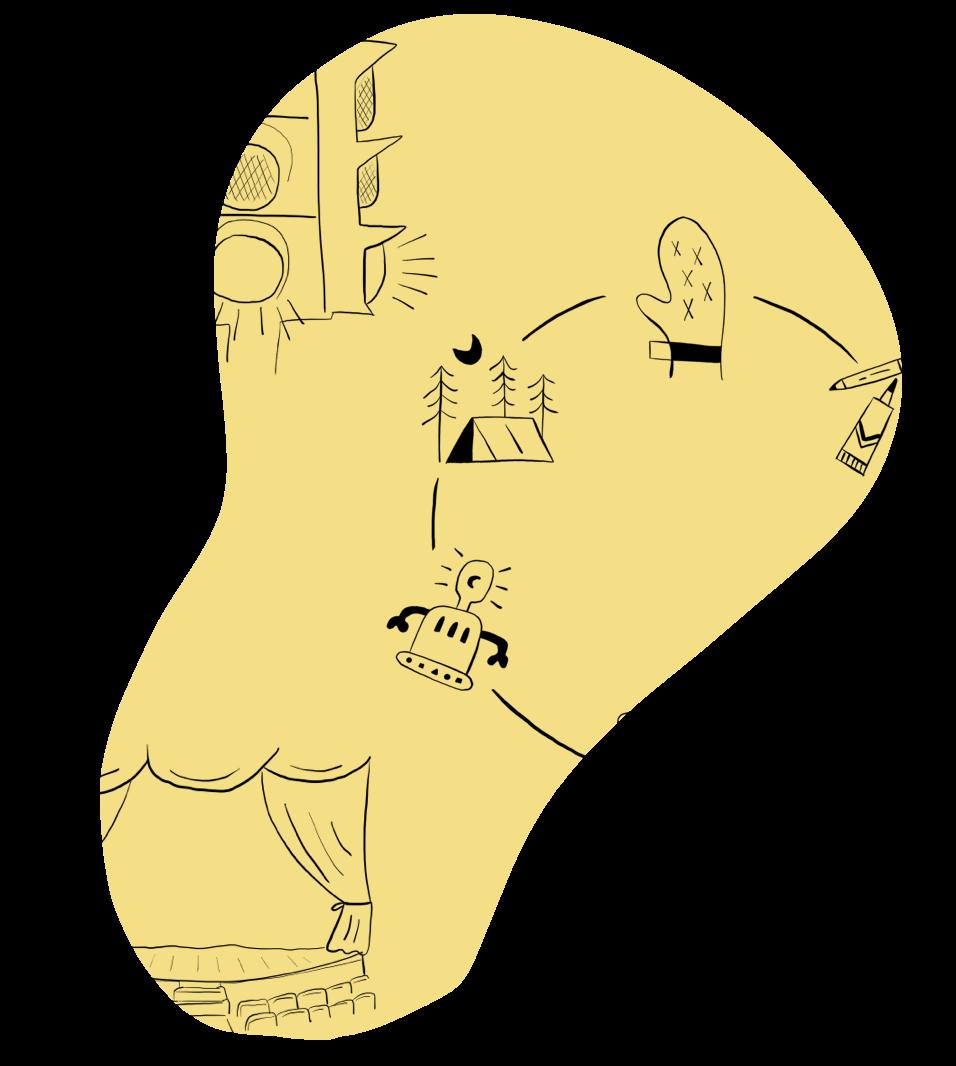 Illustration of school engagement