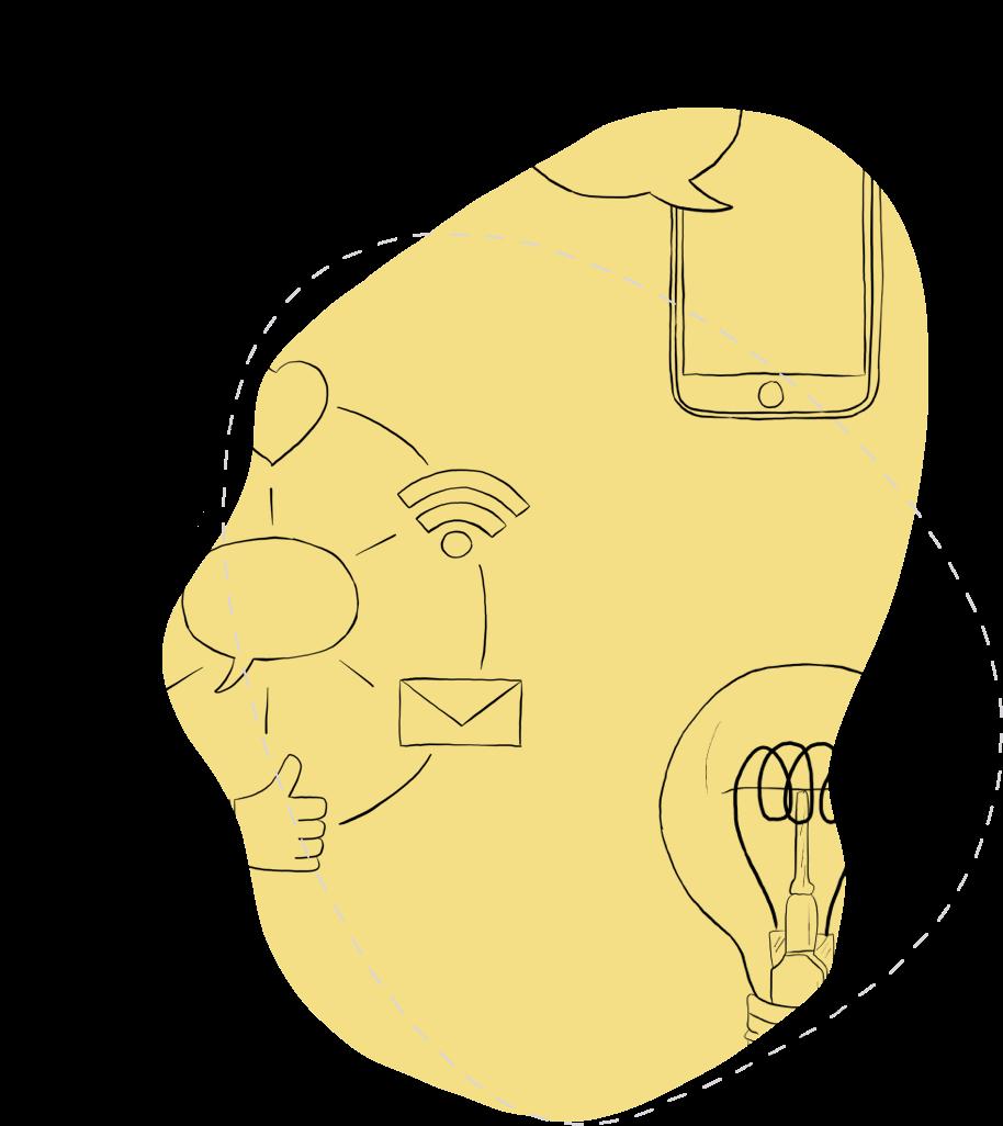Illustration of ideation process